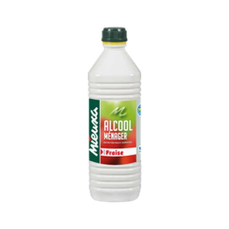 Alcool ménager parfum Fraise, Mieuxa (1 L)