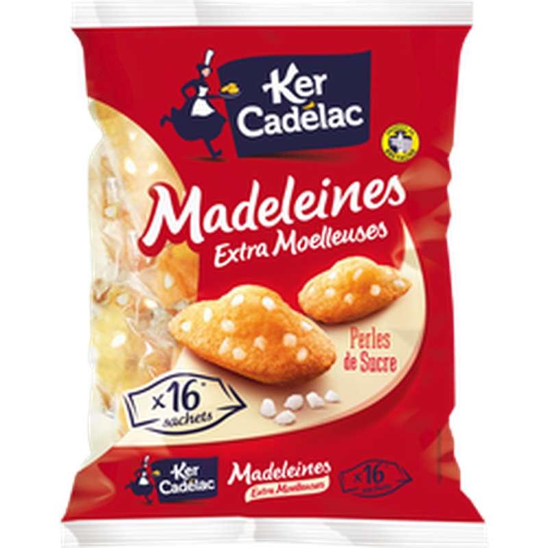 Madeleines perles de sucre, Ker Cadelac (x 16, 400 g)