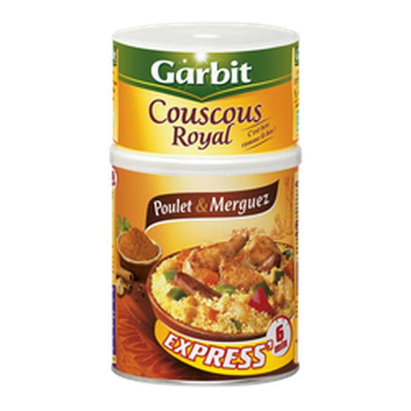 Couscous Royal au poulet et merguez, Garbit (980 g)