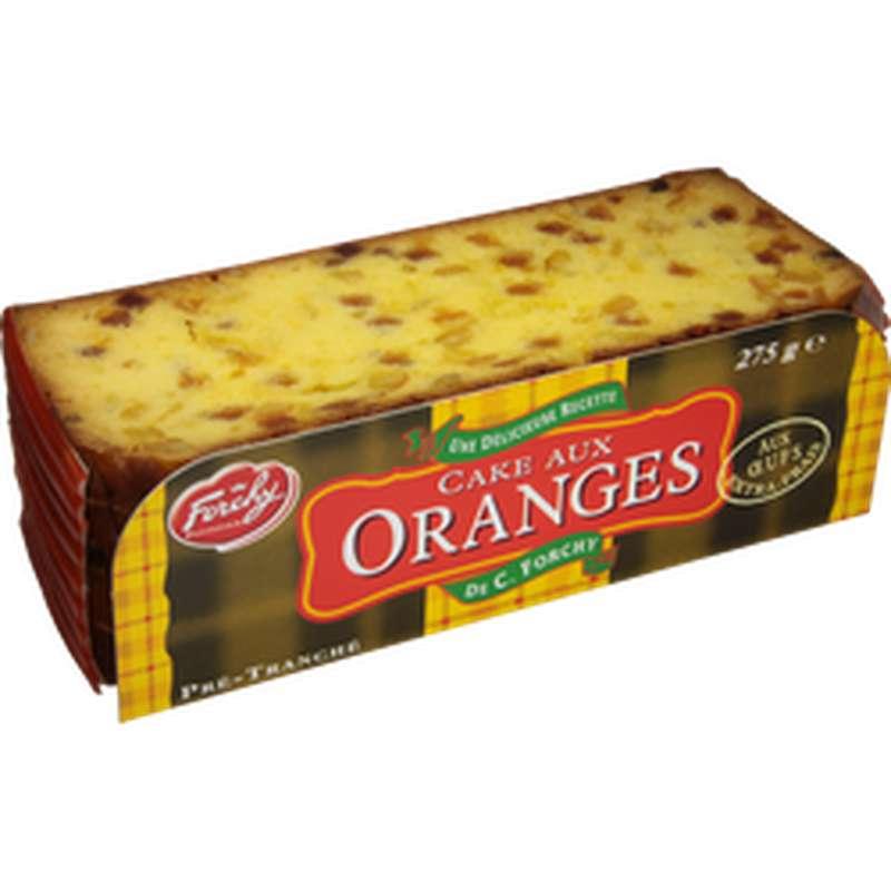 Cake aux oranges, Forchy Pâtissier (275 g)