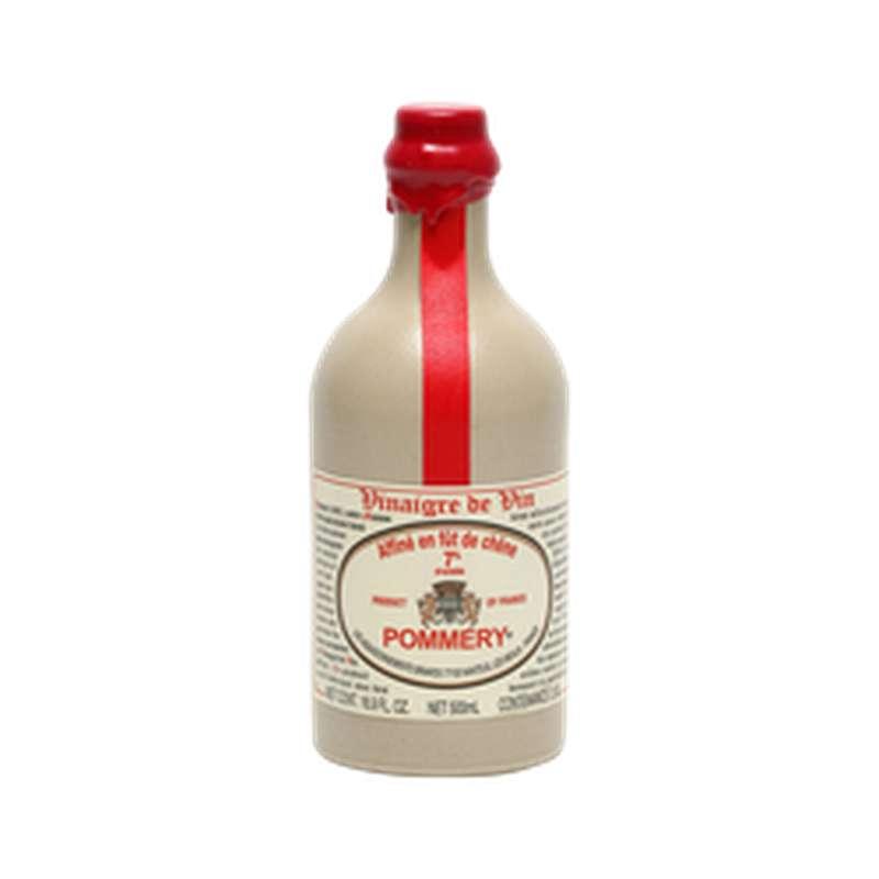 Vinaigre de Vin Rouge Affiné 7%, Pommery (50 cl)