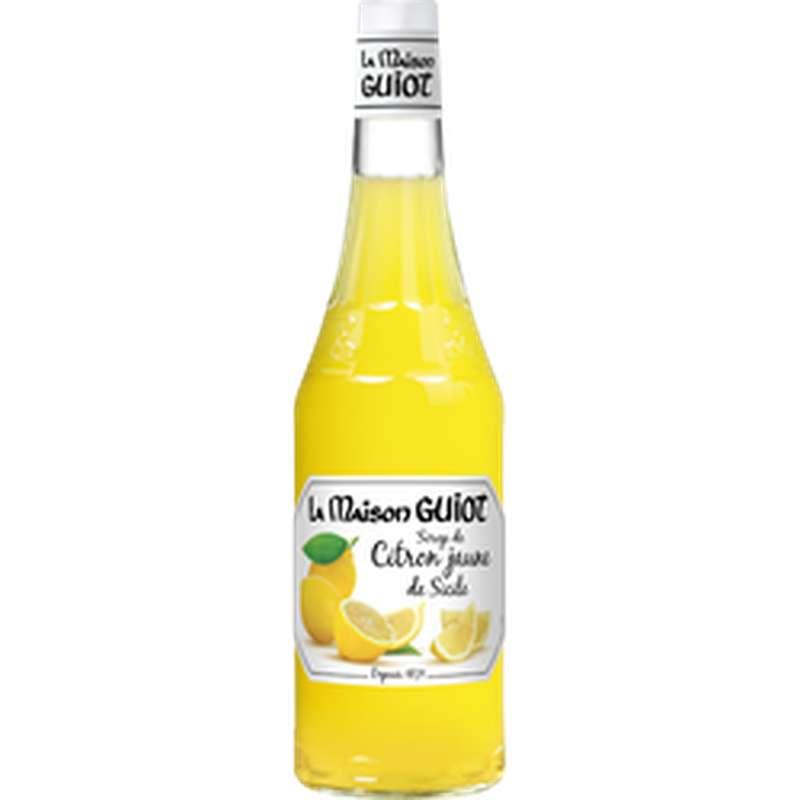 Sirop de citron de Sicile, La Maison Guiot (70 cl)