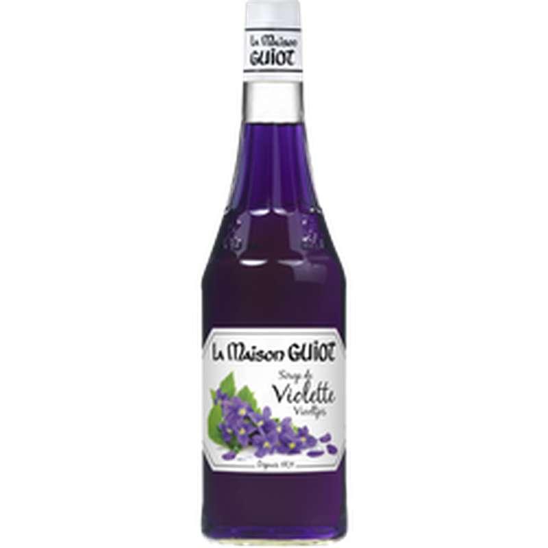Sirop de violette, La Maison Guiot (70 cl)