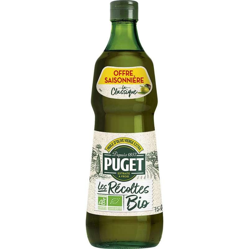 Huile d'olive Les récoltes BIO, Puget (75 cl)