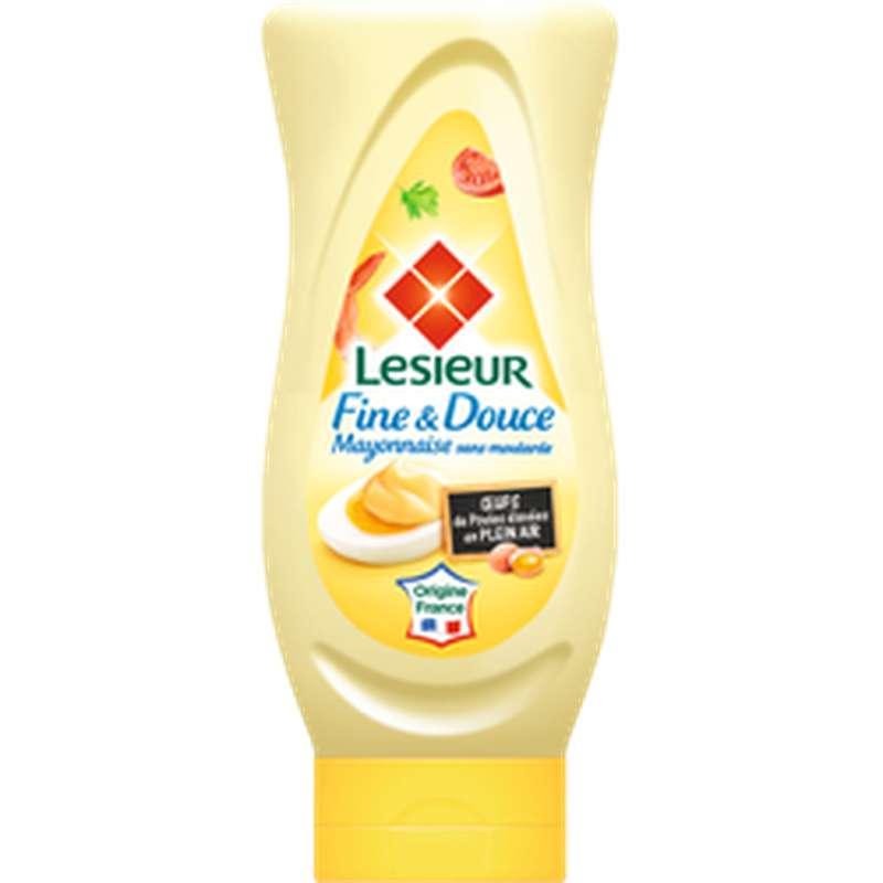 Mayonnaise fine & douce, Lesieur (425 g)