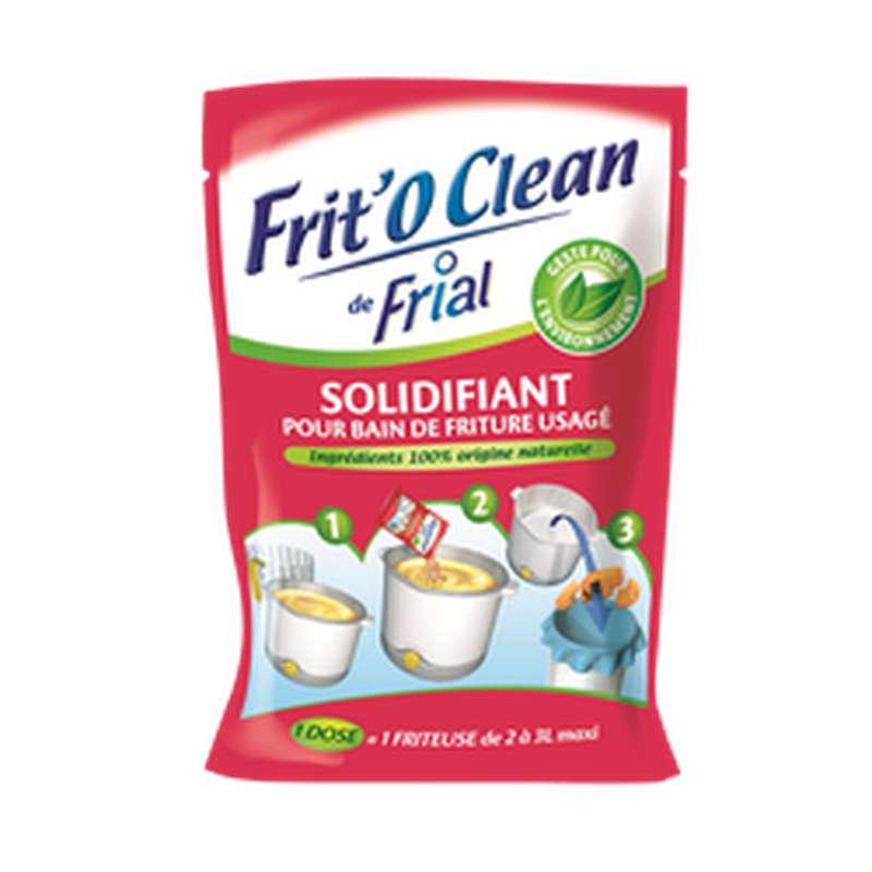 Solidifiant pour bain de friture usagé, Frit'o Clean (105 g)