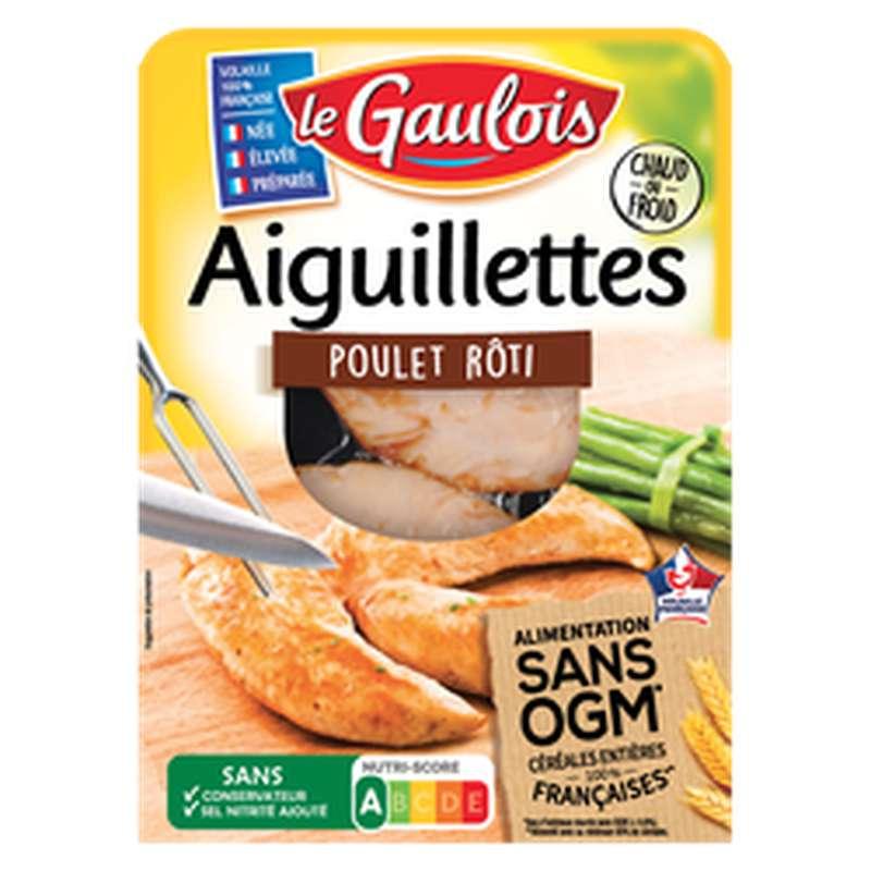 Aiguillettes de poulet rôties sans OGM, Le Gaulois (120 g)