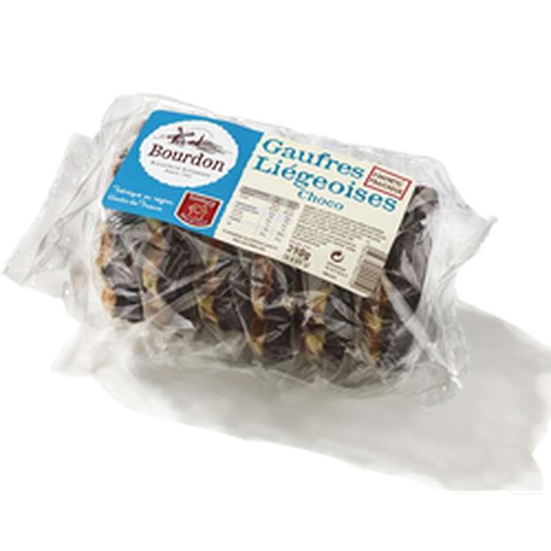 Gaufres liègeoises au chocolat, Bourdon (x 6, 390 g)