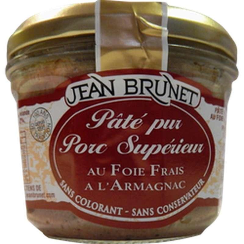 Pâté pur porc supérieur, Jean Brunet (180 g)