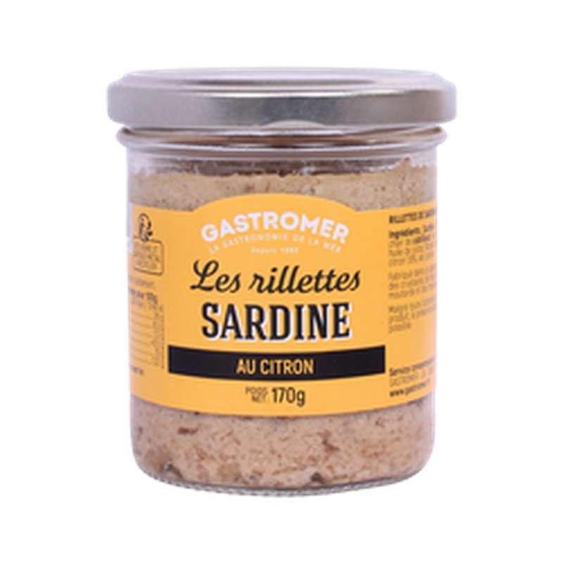 Rillettes de sardines au citron, Gastromer (170 g)
