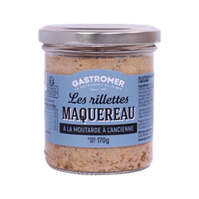 Rillettes de maquereaux moutarde à l'ancienne, Gastromer (170 g)