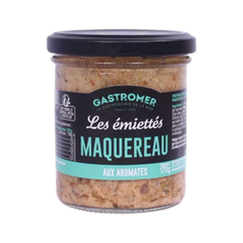 Les Émiettés Maquereau aux aromates, Gastromer (170 g)