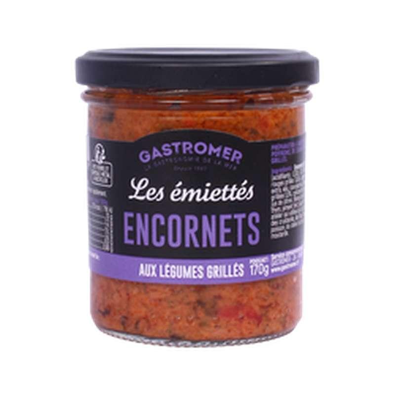 Les Émiettés Encornets aux légumes grillés, Gastromer (170 g)
