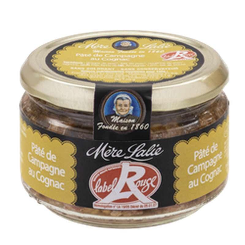 Paté de campagne au cognac Label Rouge, Mère Lalie (180 g)