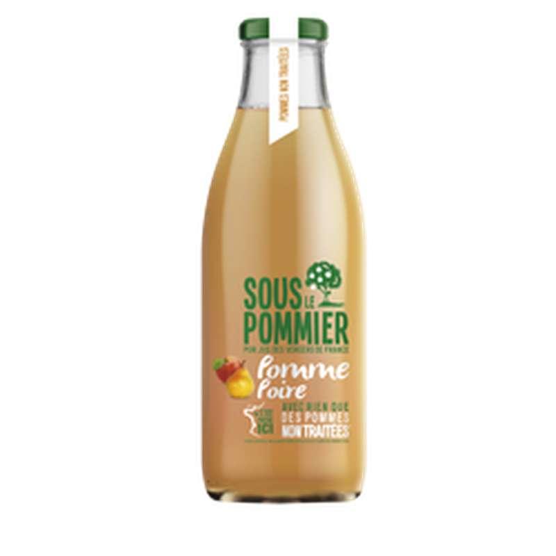 Pur jus pommes poires non traitées, Sous Le Pommier (1 L)