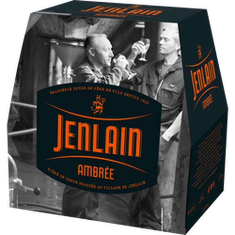 Pack de biere Ambrée, Jenlain (6 x 25 cl)