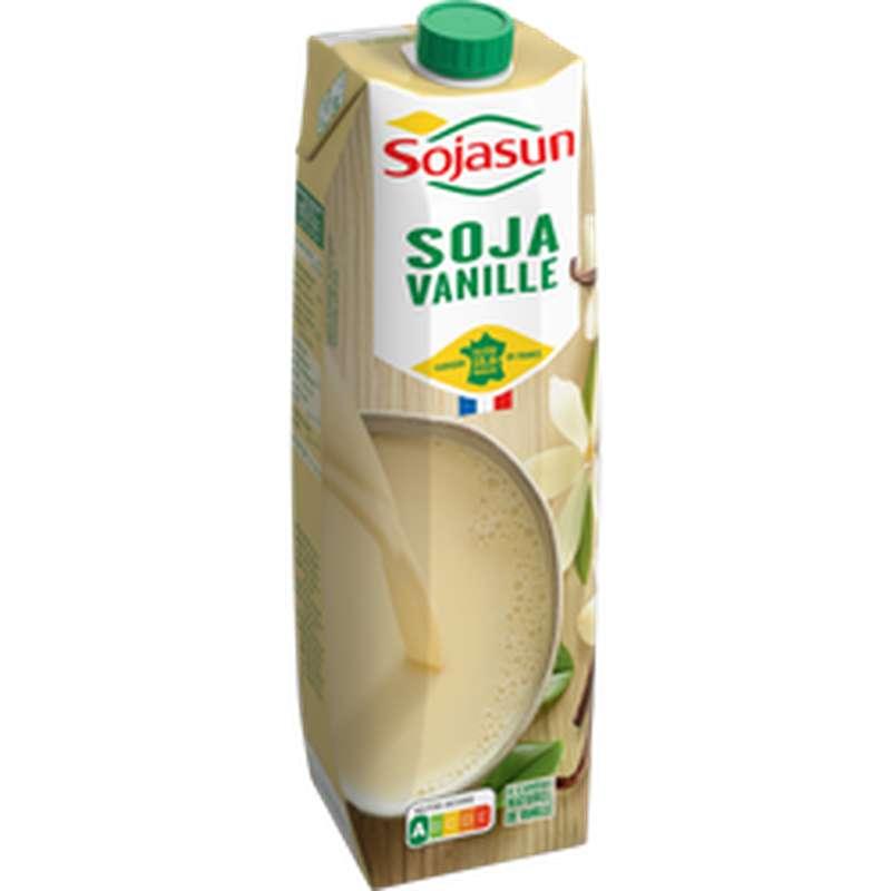 Boisson au soja à la vanille, Sojasun (1 L)