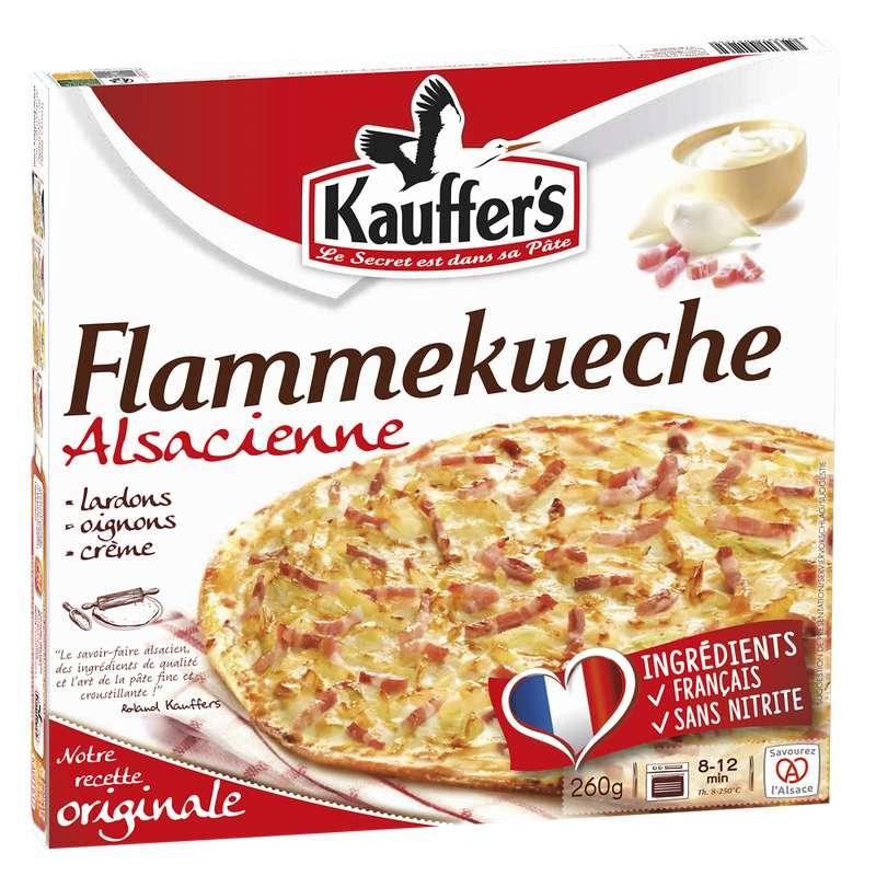 Tarte Flambée Flammekueche alsacienne, Kauffer (260 g)