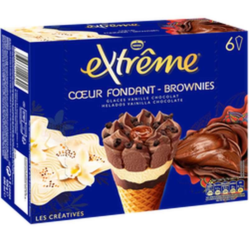 Cône coeur fondant brownies, Extreme (426 g)