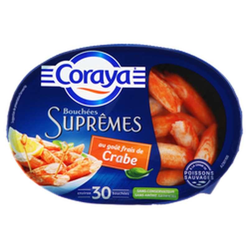 Bouchées Suprêmes goût crabe, Coraya (x 30, 140 g)