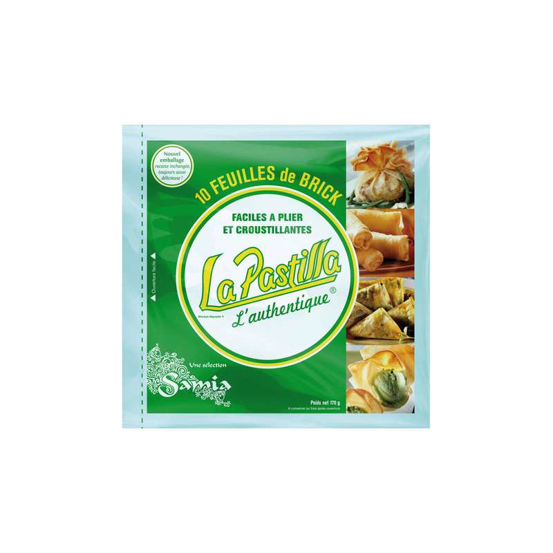 Feuilles de brick l'Authentique, La Pastilla (170 g)