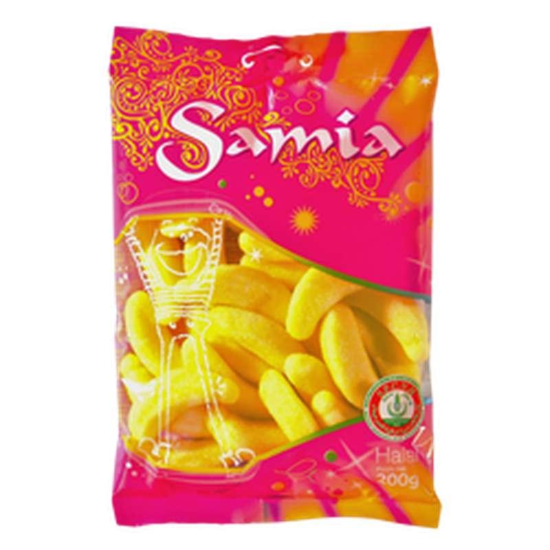 Bonbons gélifiés banane halal, Samia (200 g)