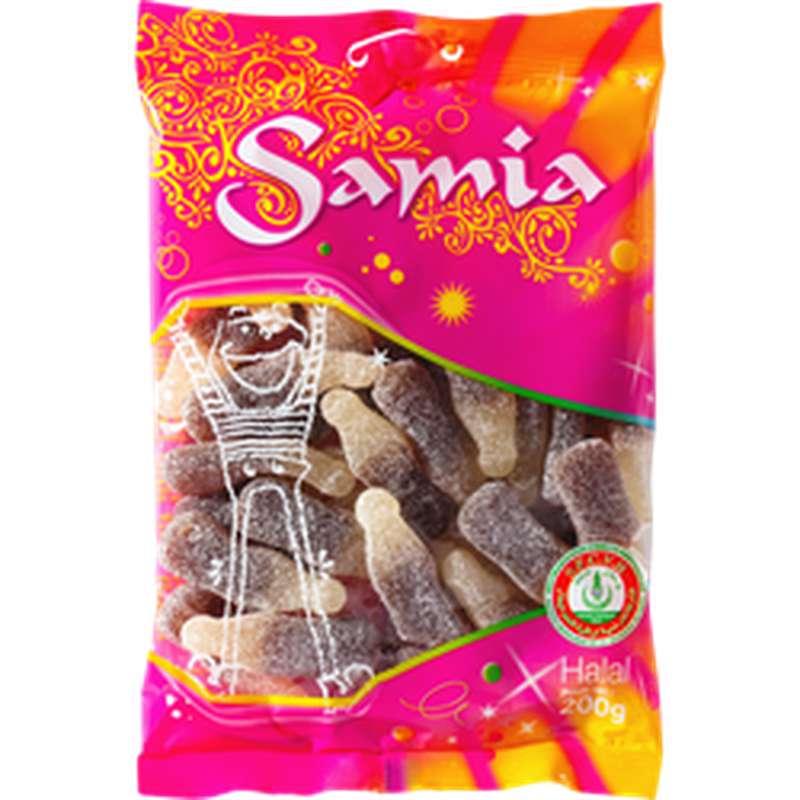 Bonbons gélifiés halal bouteilles de cola, Samia (200 g)