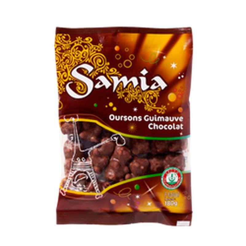 Oursons au chocolat guimauve halal, Samia (180 g)