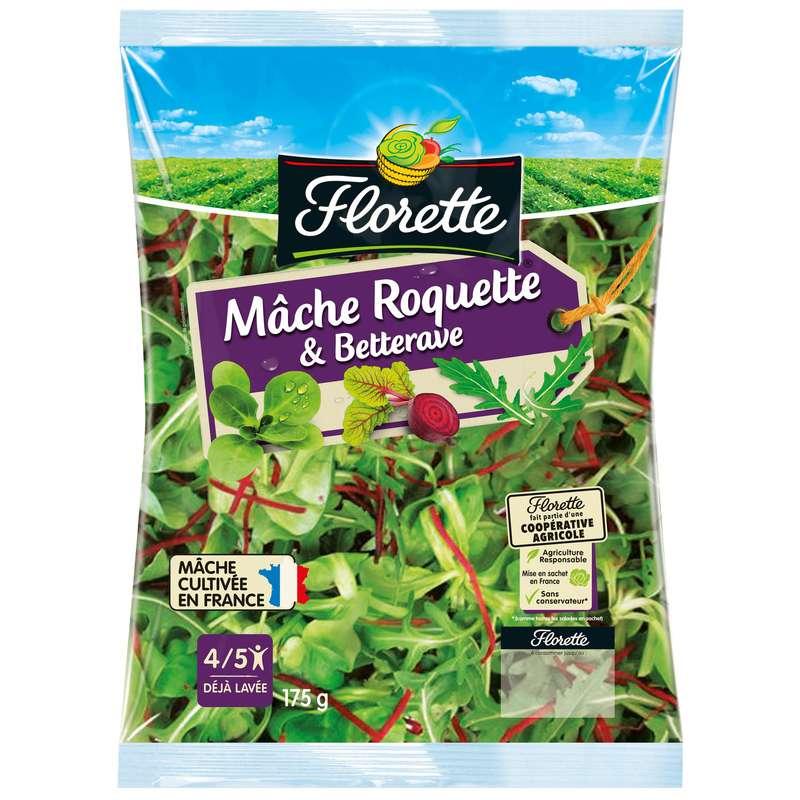 Salade mâche, roquette, betterave, Florette (175 g)