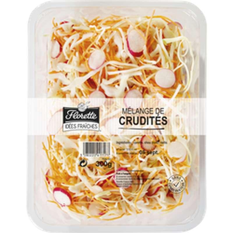 Crudités Mélangées (carotte, chou blanc, radis), Florette (300 g)