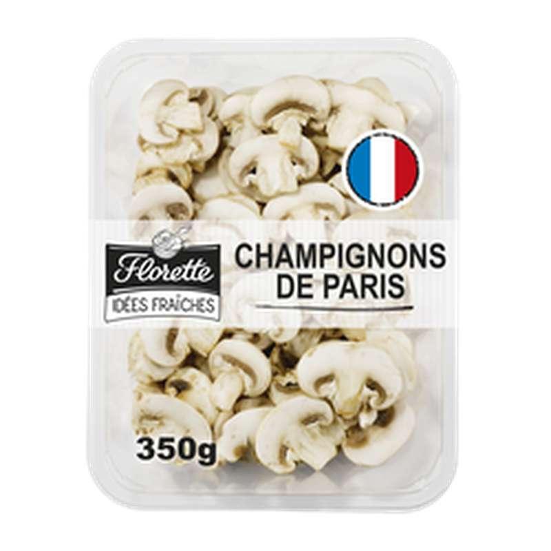 Champignon de Paris emballage fraicheur, Florette (350 g)