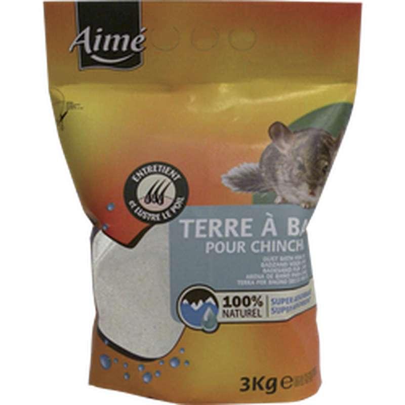 Terre à bac pour chinchilla, Aimé (3 kg)
