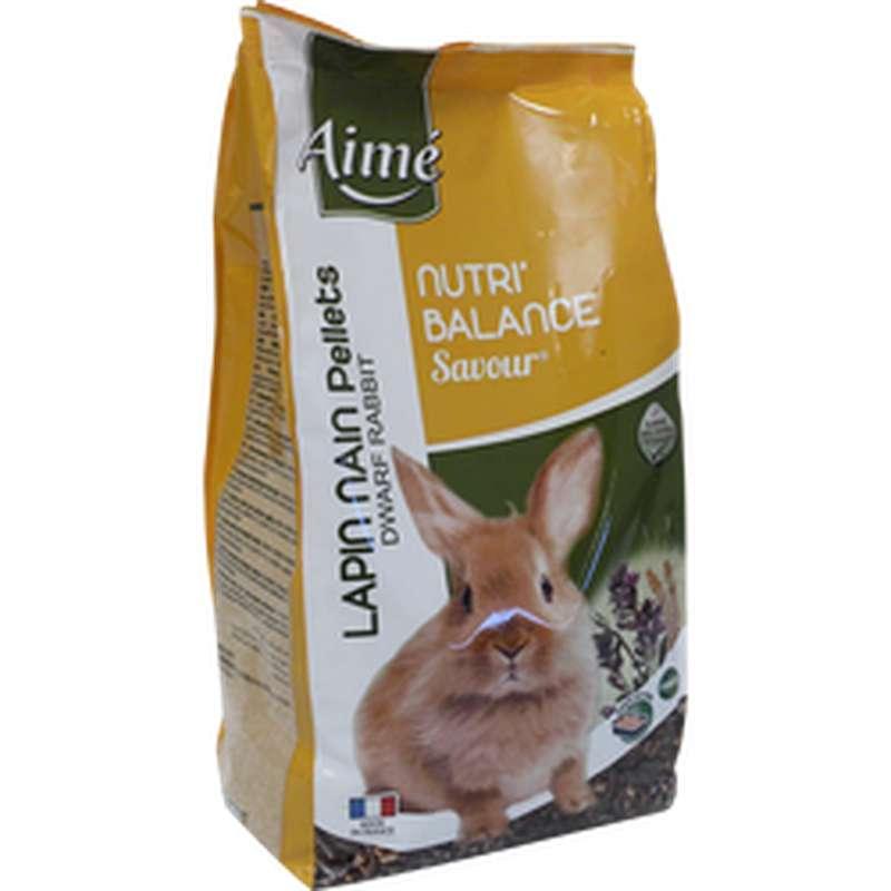 Granulés pour lapin nain Nutri'Balance, Aimé (900 g)