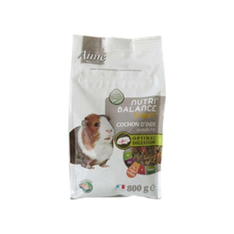 Mélange de granulés pour cochon d'inde Nutri'Balance, Aimé (800 g)