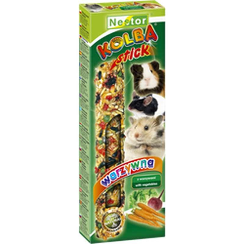 Baguettes aux légumes pour rongeurs, Nestor (115 g)