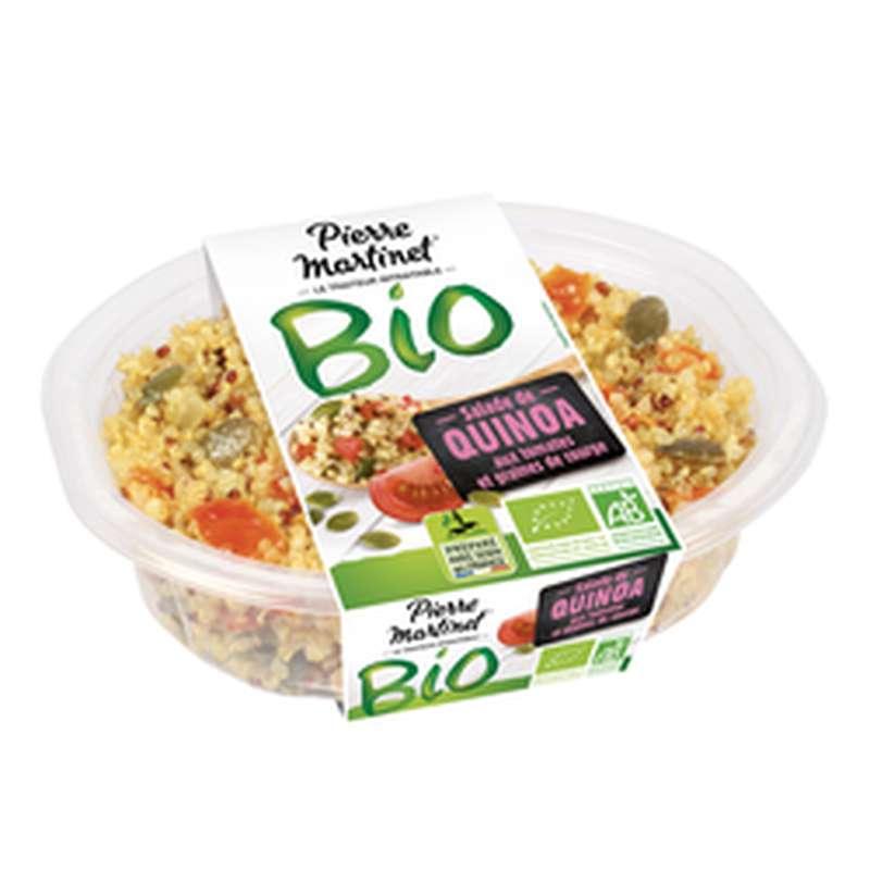 Salade de Quinoa aux tomates et graines de courge BIO, Pierre Martinet (200 g)