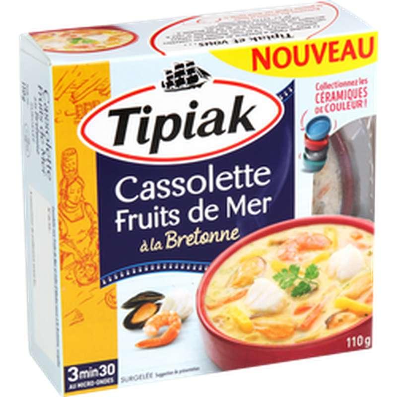 Cassolette aux fruits de mer et poisson à la bretonne, Tipiak (110 g)