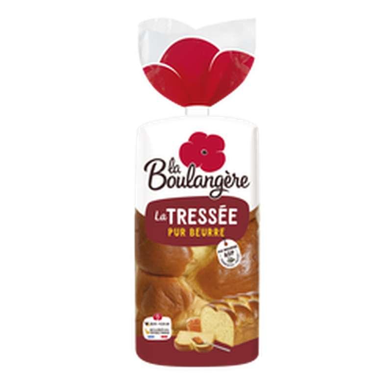 Brioche tressée pur beurre, La Boulangère (800 g)