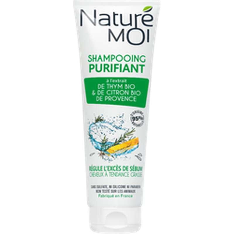 Shampoing purifiant Cheveux gras, Nature Moi (250 ml)