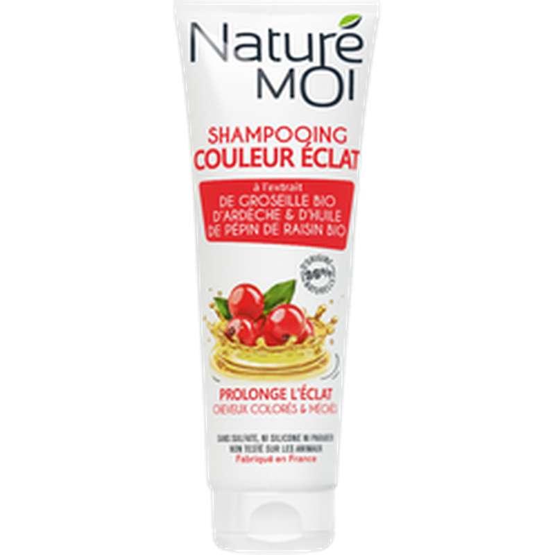 Shampoing couleur éclat cheveux colorés, Nature Moi (250 ml)