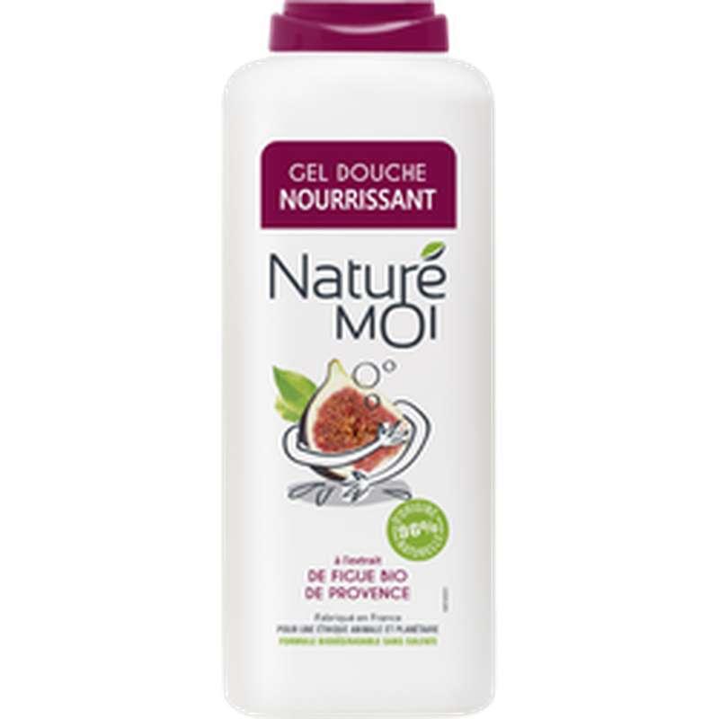 Gel douche nourrissant parfum figue de Provence, Nature Moi (400 ml)