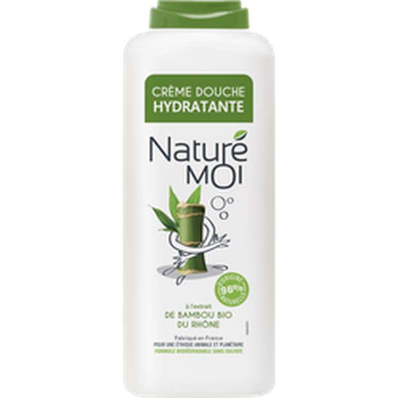 Crème douche hydratante au bambou, Nature Moi  (400 ml)