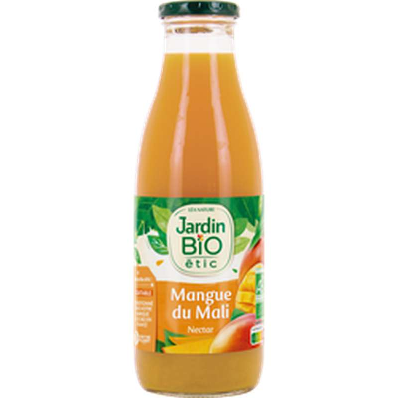 Nectar de mangue du Mali BIO, Jardin Bio étic (75 cl)