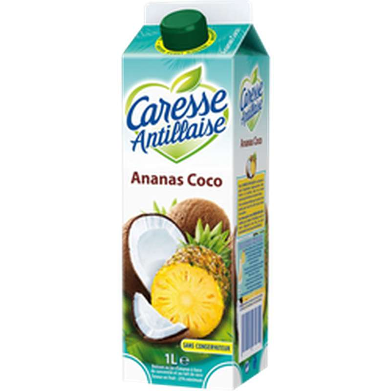 Nectar Ananas Coco, Caresse Antillaise (1 L)