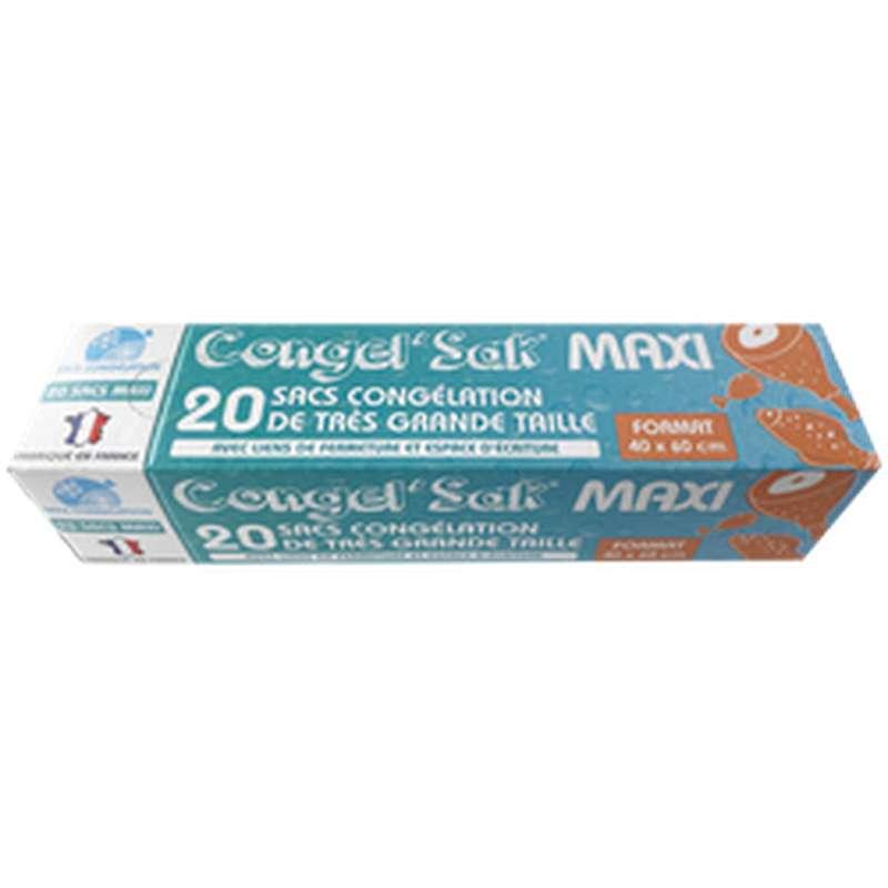 Sacs congélation maxi, Congel'Sak (x 20)