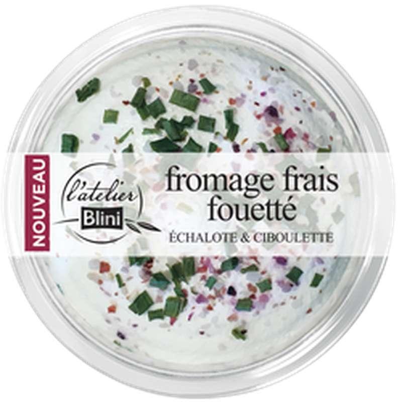 Fromage frais fouetté, L'atelier Blini (140 g)