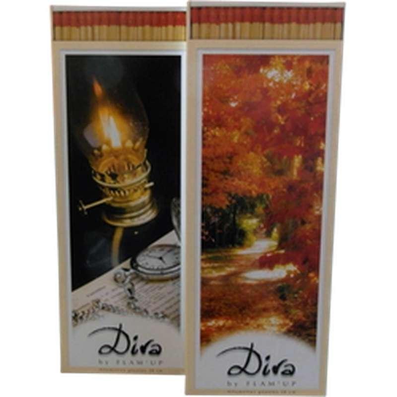 Allumettes géantes pour cheminée, Flam Up Diva (x 70)