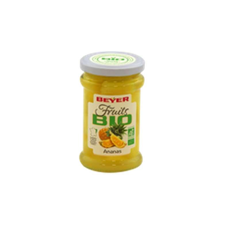 Ananas au sirop BIO, Beyer (250 ml)