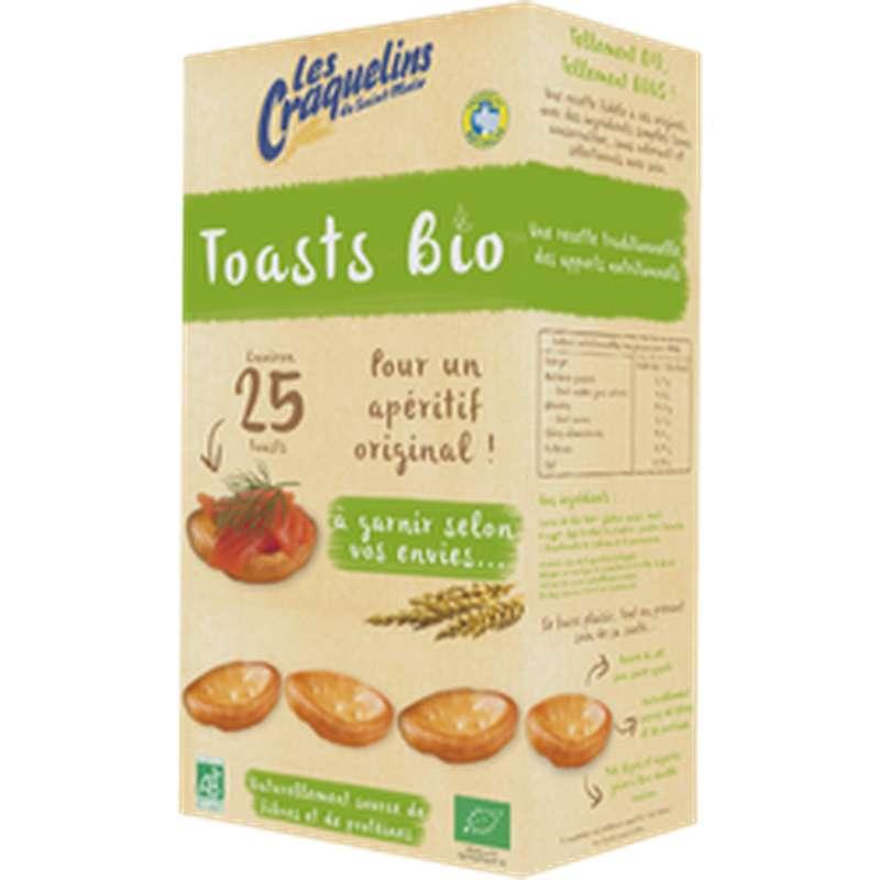 Toasts Craquelins BIO, Les Craquelins de Saint Malo (40 g)