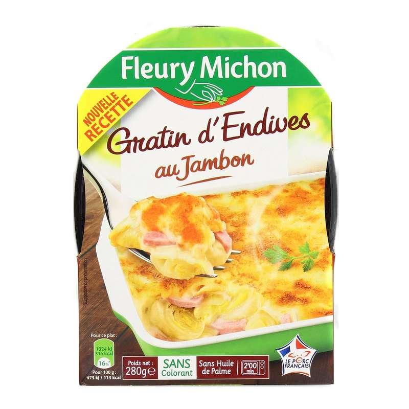 Gratin d'endives au jambon, Fleury Michon (280 g)
